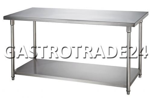 table de travail acier inox 1800 x 700 x 860mm ebay