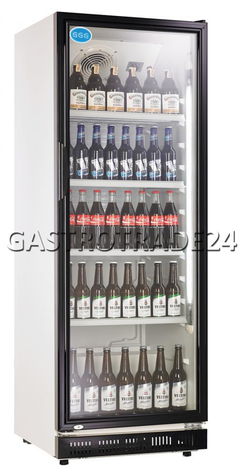 Kühlschrank Getränke Flaschenkühlschrank Glastür 360 Liter Umluft ...